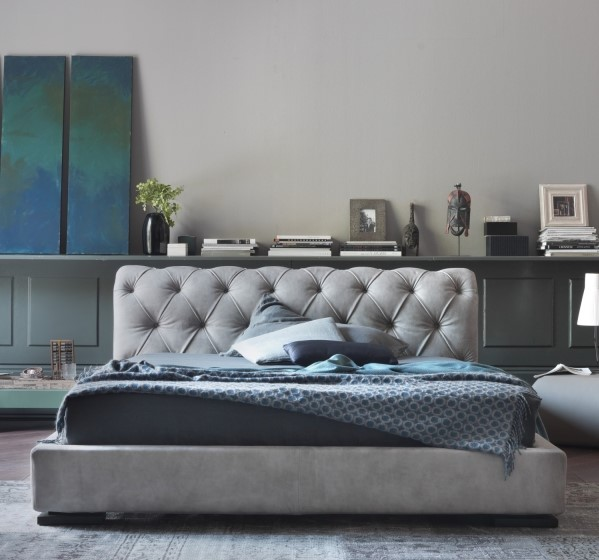 Camera da letto tortora elegante e accogliente ecco 16 - Parete camera da letto tortora ...