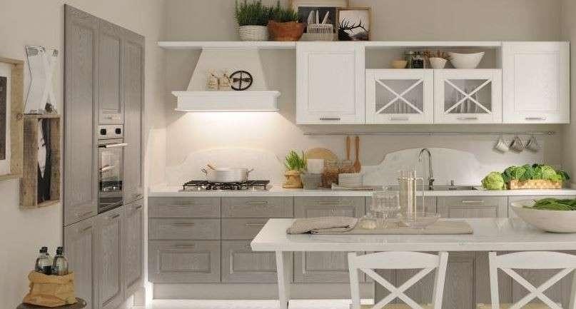 Una cucina grigia e bianca? 15 esempi di ispirazione...