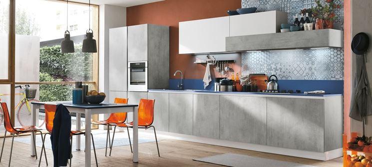 Cucina bianca e grigia: Ispiratevi con questi 15 esempi... Buona ...