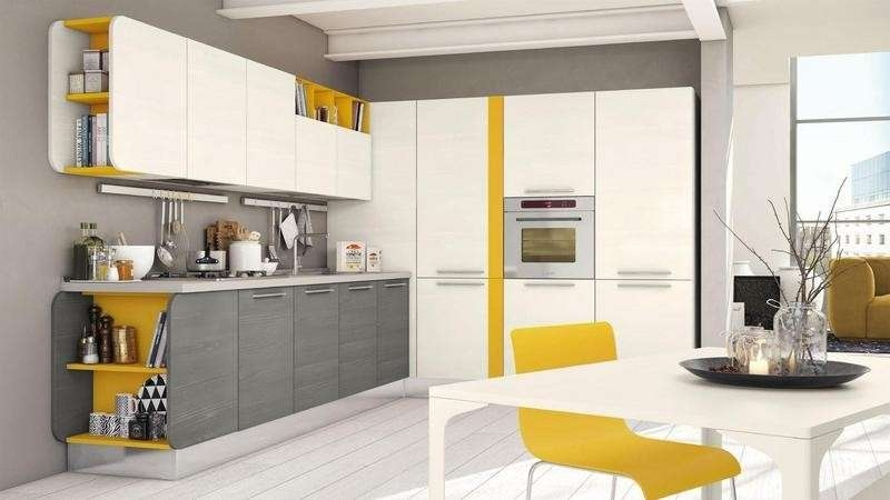White and gray kitchen be inspired with these 15 examples good vision - Cucina bianca e grigia ...
