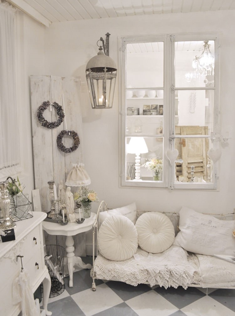 Stay in a Shabby Chic style: Lived and romantic! 10 ideas to inspire ...
