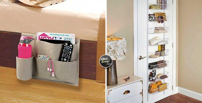 Tenere in ordine la camera da letto! Ecco 15 accessori utili...