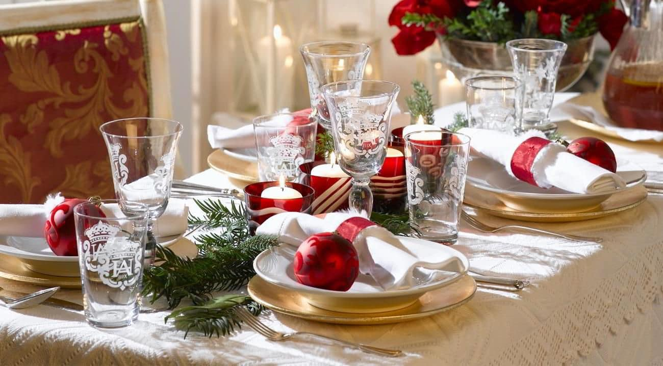 Come apparecchiare la tavola a Natale