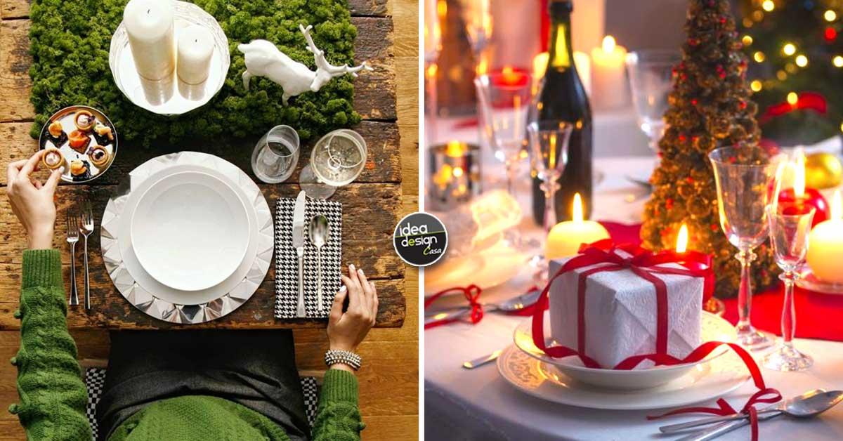 Decorazioni Natalizie Tavola 2019.Come Apparecchiare La Tavola A Natale 15 Idee Da Cui Trarre