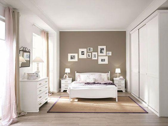 Camera da letto tortora elegante e accogliente ecco 16 idee per ispirarvi - Imbiancatura camera da letto ...