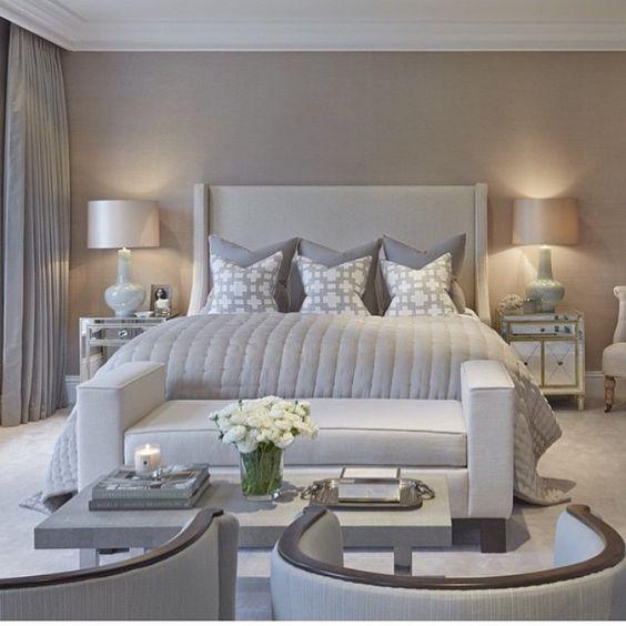 Camera da letto tortora elegante e accogliente ecco 16 idee per ispirarvi - Camera da letto marinara ...