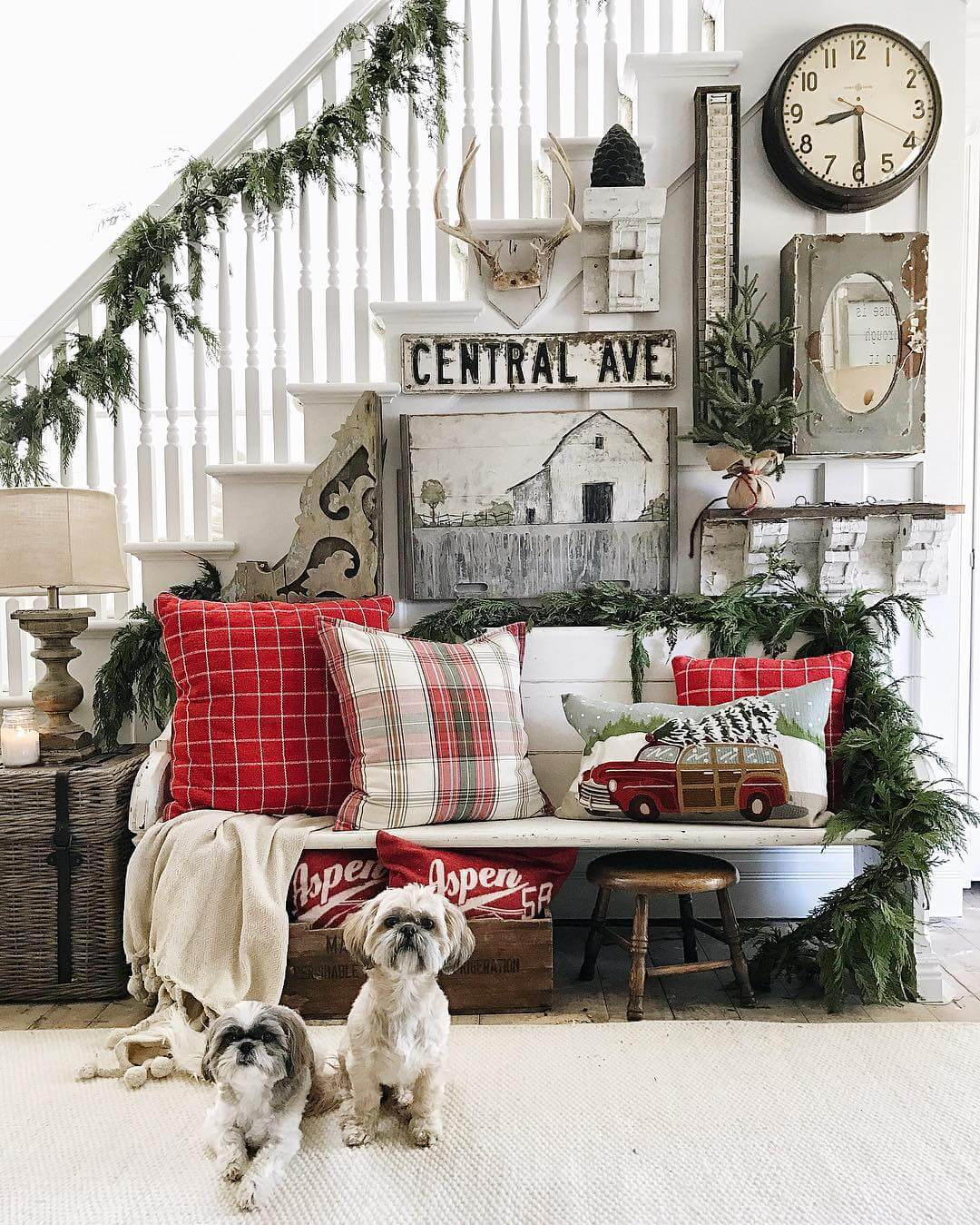 Farmhouse Living Room Decorating Ideas Pinterest