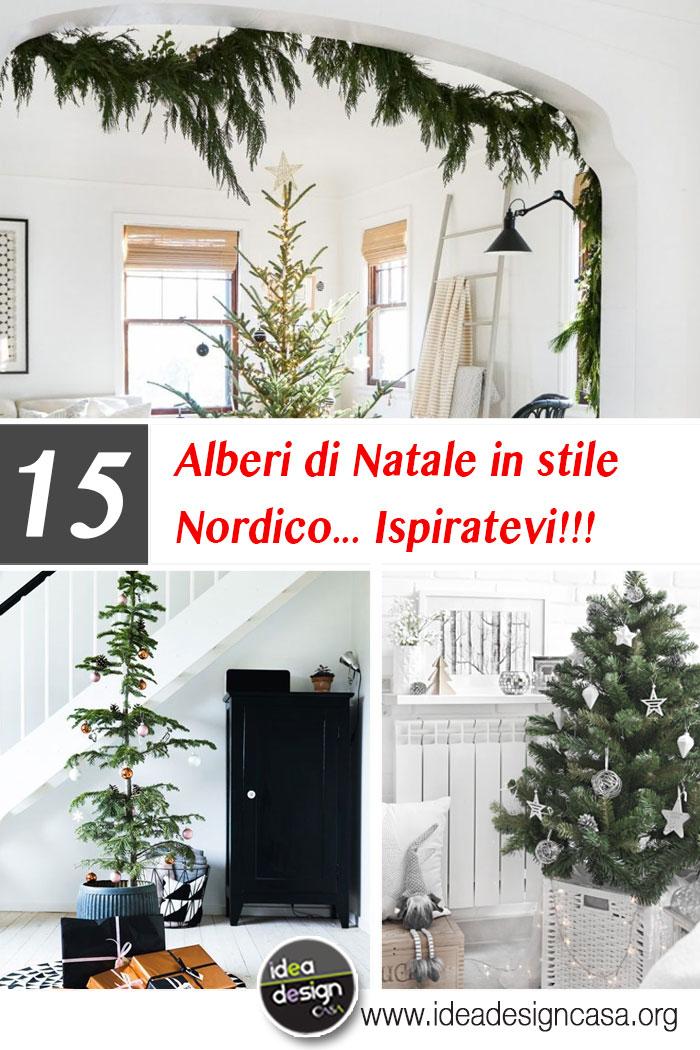 Addobbi Natalizi Stile Nordico.Decorazione Albero Di Natale In Stile Nordico Ecco 15 Esempi Da Seguire