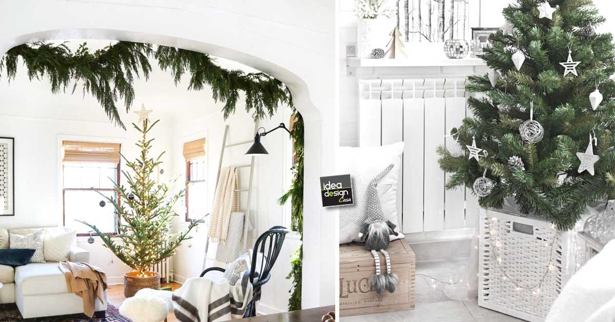 Albero Di Natale Con Decorazioni Blu : Decorazione albero di natale in stile nordico! ecco 15 esempi da