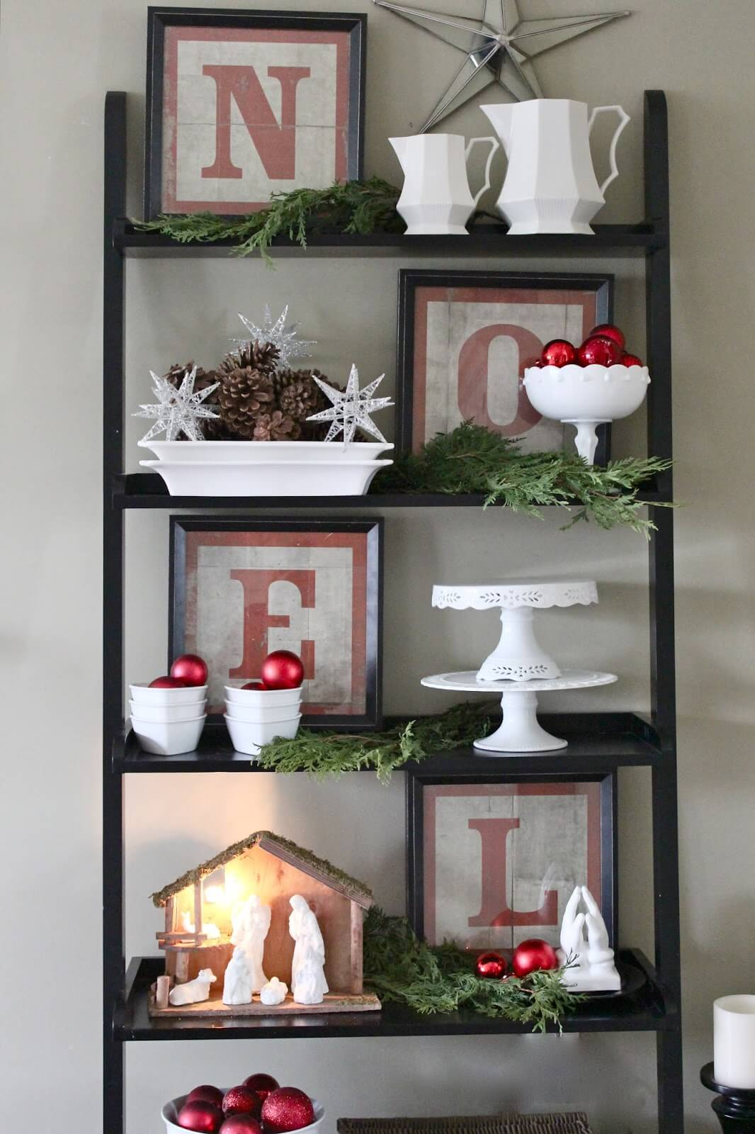 Hutch Decorating Ideas Display Bookcases
