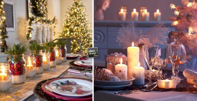 atmosfera di natale con le candele ecco 15 idee per ispirarvi. Black Bedroom Furniture Sets. Home Design Ideas
