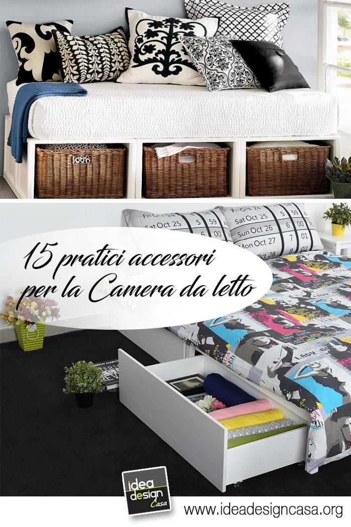 Awesome accessori per la camera da letto gallery idee for Idee per la camera da letto
