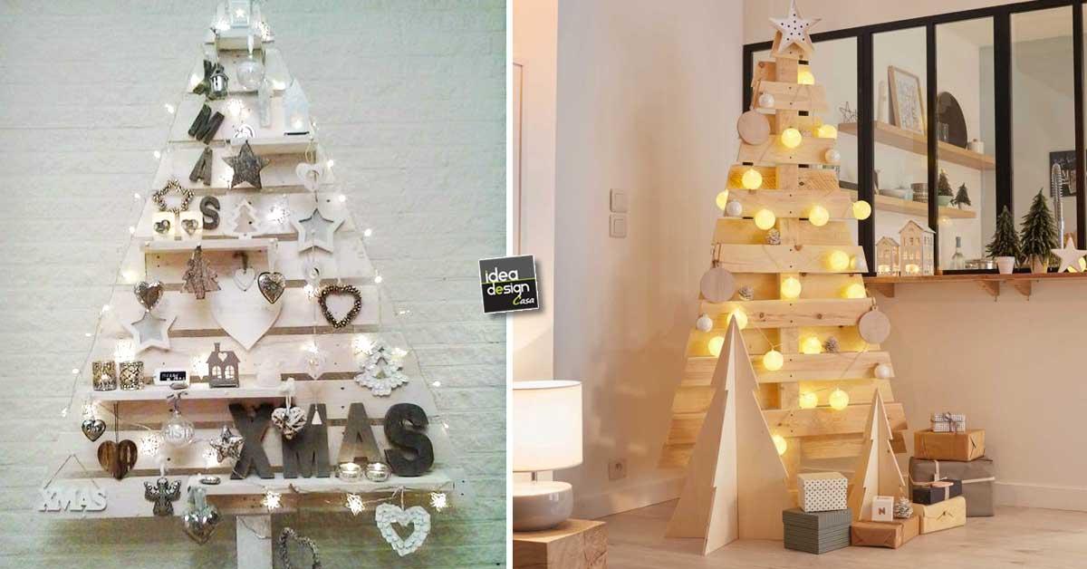 Natale Idea.Un Albero Di Natale In Legno Eccone 15 Bellissimi
