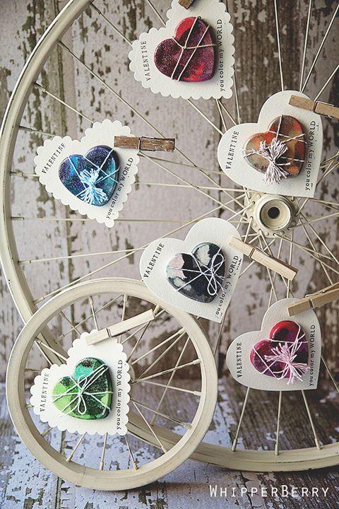 Riciclare le ruote della vecchia bicicletta 15 idee da for Idea ruote
