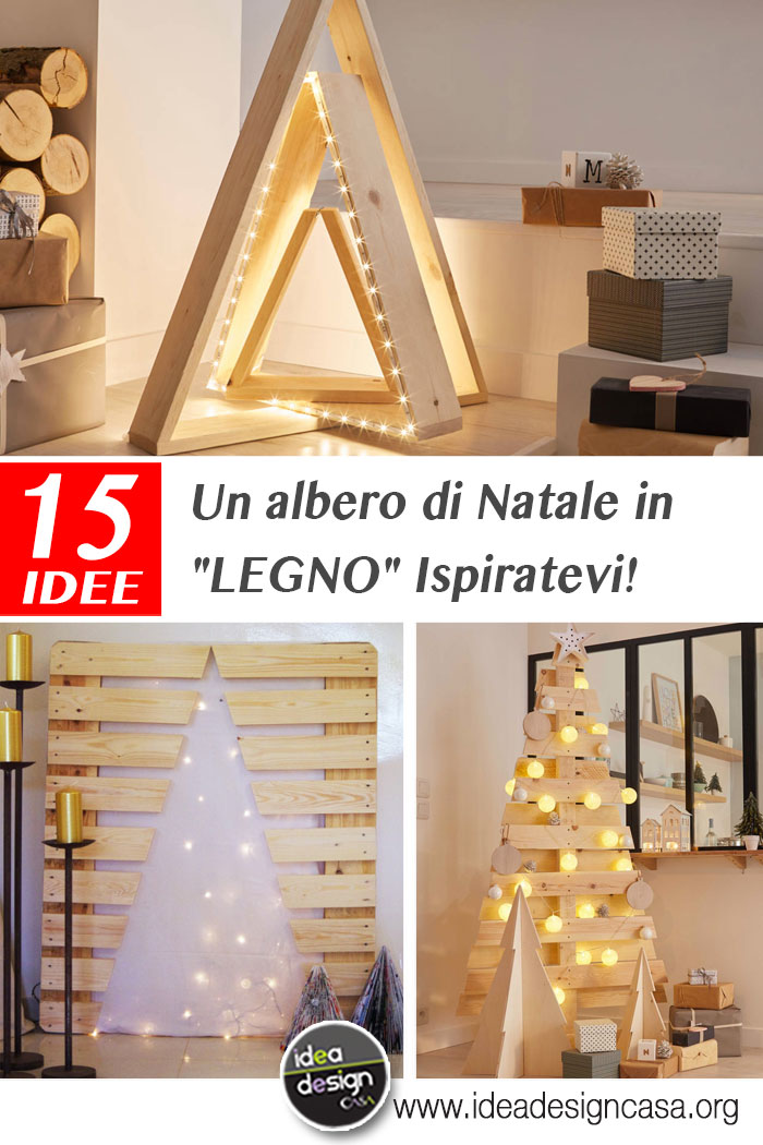 A wooden christmas tree here are 15 beautiful be inspired if you like christmas decorations do it yourself youve come to the right place today we have selected 15 ideas for a unusual christmas tree made of solutioingenieria Choice Image