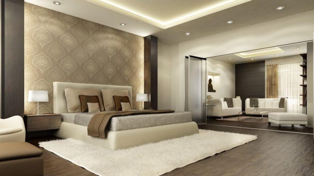 Camera Da Letto Pittura Marrone : Camera da letto beige e marrone idee per abbinare bene questi
