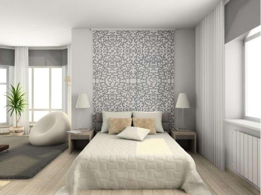 Camera da letto grigia e bianca ecco 15 idee a cui - Camere da letto moderne bianche ...