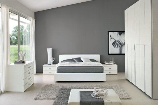 Camera Da Letto Bianco : Camera da letto grigio bianco joodsecomponisten