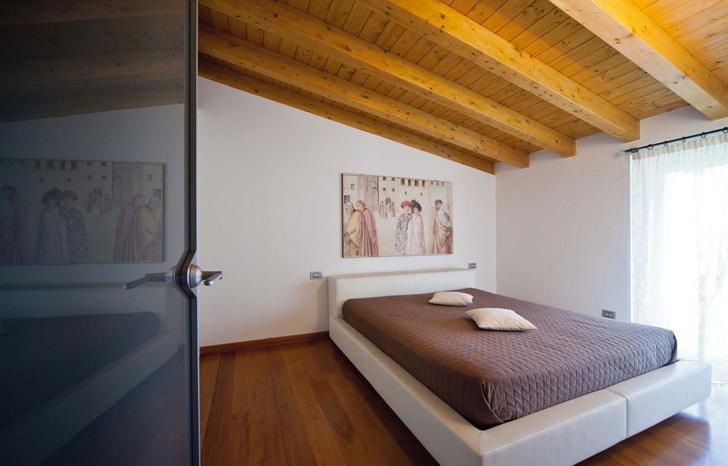 camera da letto bianca e legno ispiratevi con queste 15