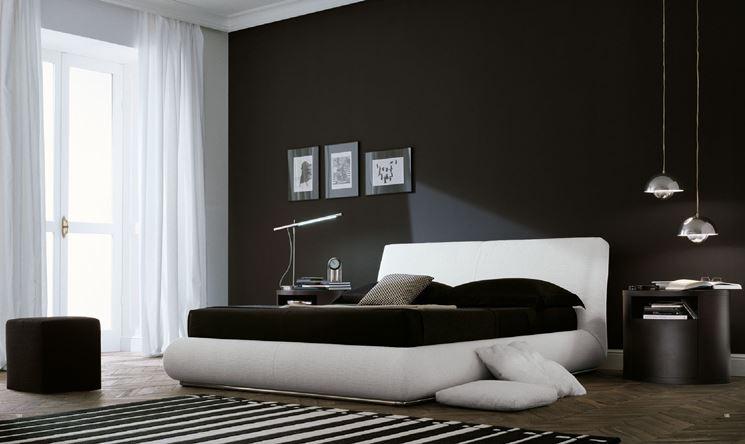 Camera da letto bianca e nera! Scoprite queste 15 proposte e ...