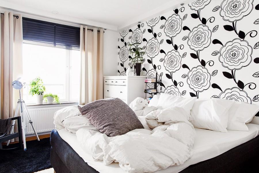 Camera Da Letto Moderna Bianca E Nera : Camera da letto bianca e nera scoprite queste proposte