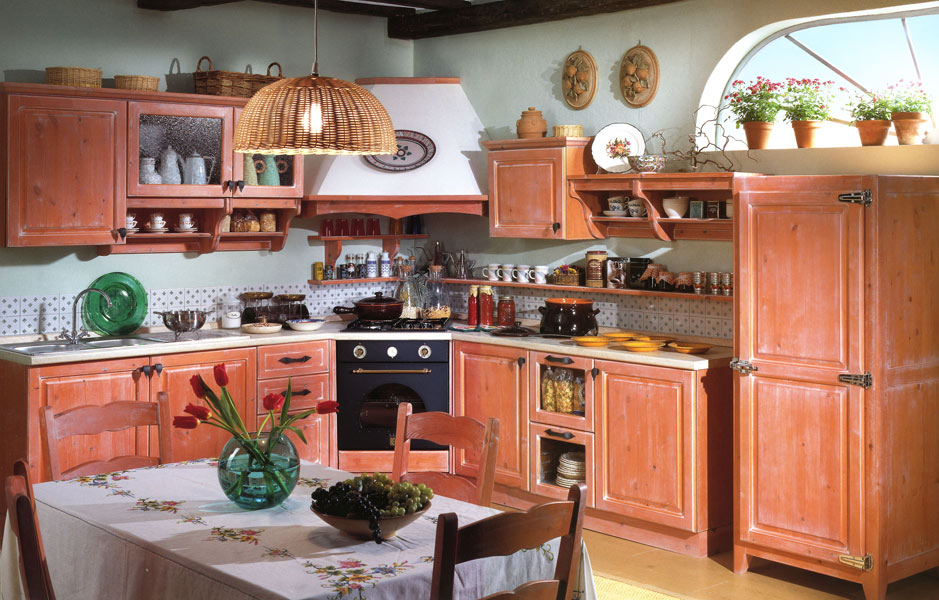 Stunning cucine rustiche country images design ideas - Cucina country provenzale ...