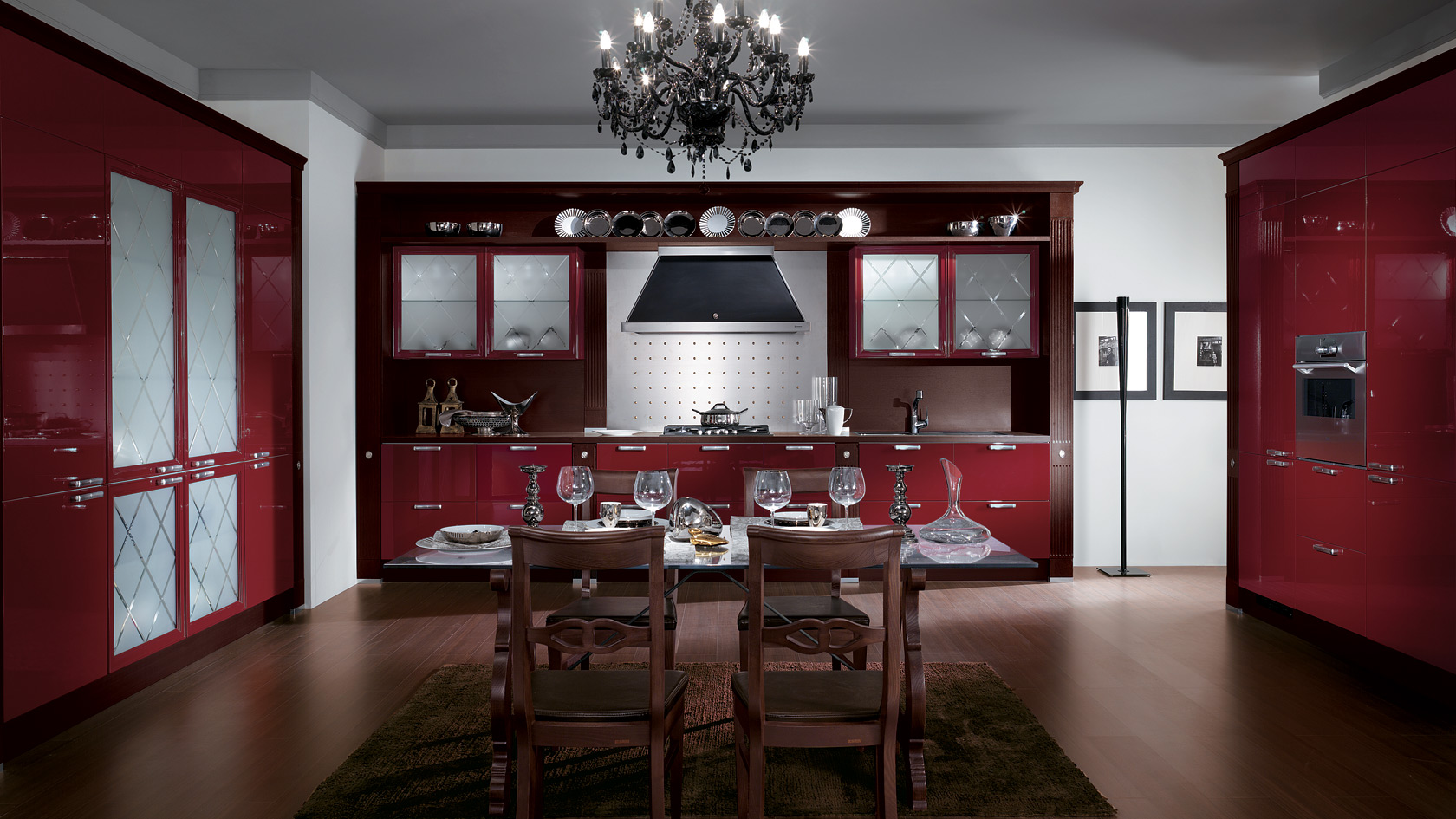 Cucina rossa e grigia: 15 idee accattivanti che vi ispireranno!