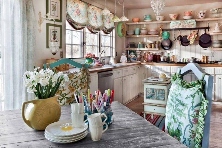 Shabby Chic cuisine : Voici 15 idées pour meubler avec goût !