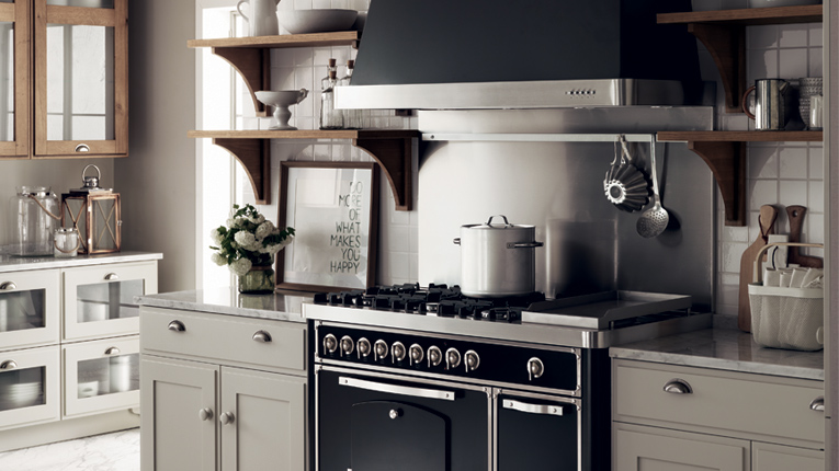emejing cucina country chic bianca images. Black Bedroom Furniture Sets. Home Design Ideas
