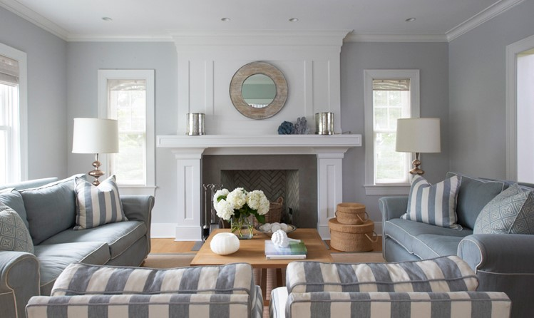 Soggiorno bianco e grigio ecco 15 idee ispiratevi con for Idee per dipingere il soggiorno