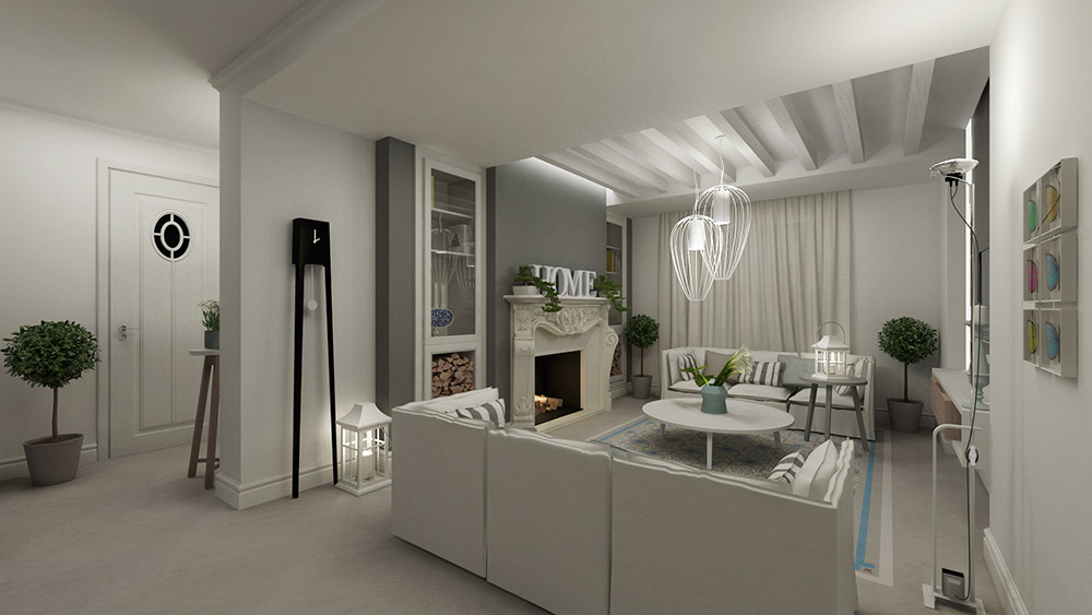 Stay white and gray: here are 15 ideas ... Be inspired with imagination!