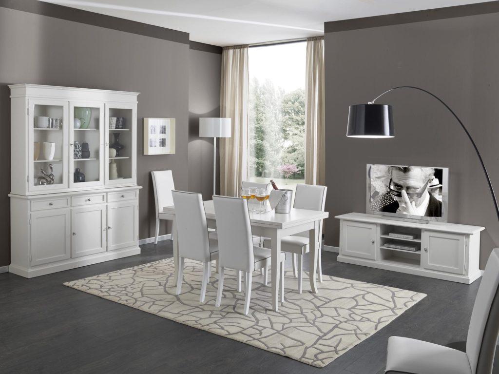 Soggiorno bianco e grigio ecco 15 idee ispiratevi con for Arredamento grigio