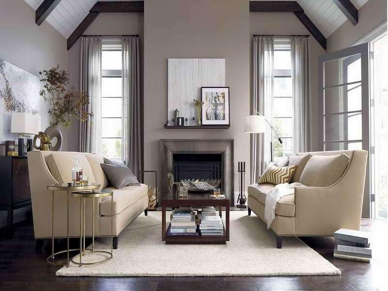 Soggiorno grigio e beige: Ecco come abbinarlo! 15 esempi a cui ...