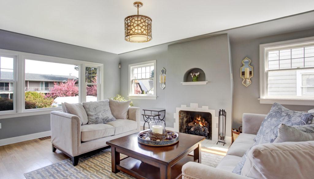 Soggiorno grigio e beige ecco come abbinarlo 15 esempi a for Pareti soggiorno grigio