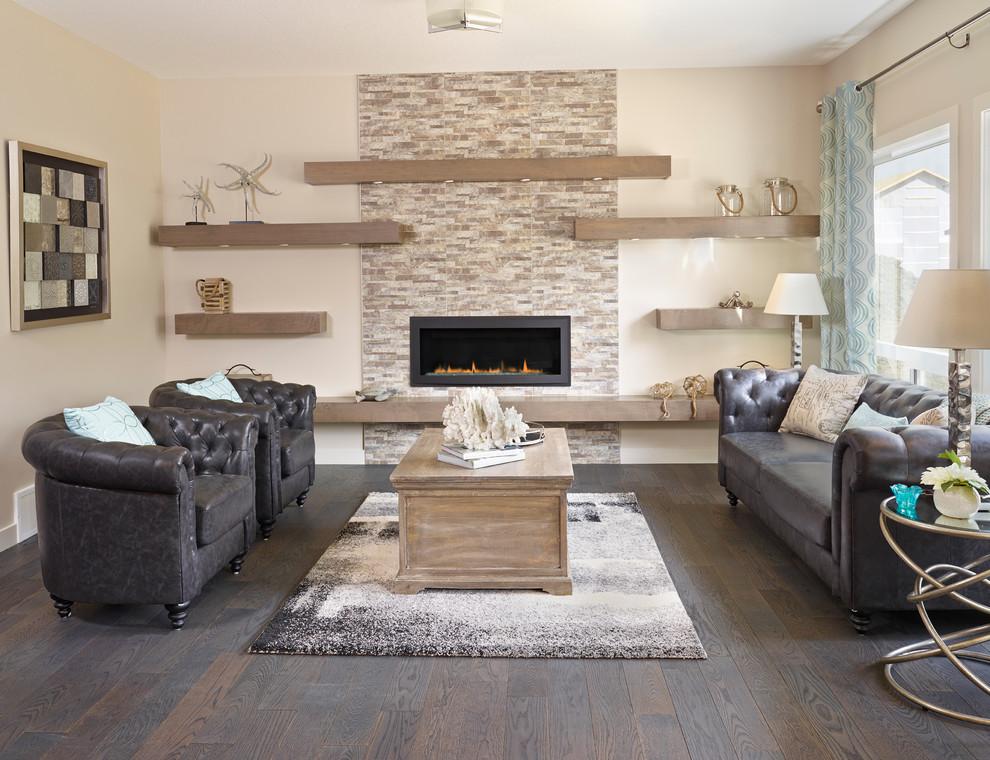 Soggiorno grigio e beige ecco come abbinarlo 15 esempi a cui ispirarsi - Colorare le pareti del soggiorno ...