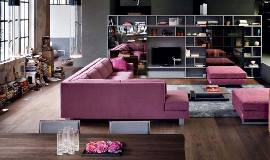 Salotto Grigio Perla : Soggiorno grigio e rosa idee per abbinare con gusto
