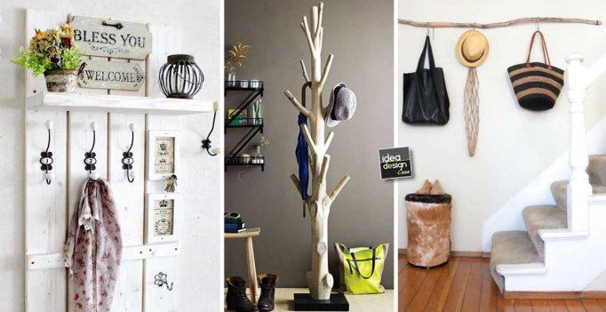 Un appendiabiti fai da te per una casa originale 20 idee - Fai da te in casa ...