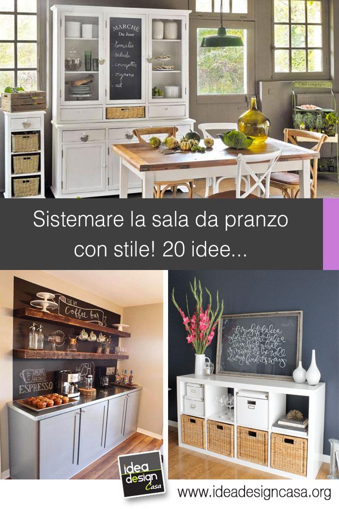Sistemare la sala da pranzo con stile 20 idee per for Sala pranzo con caminetto