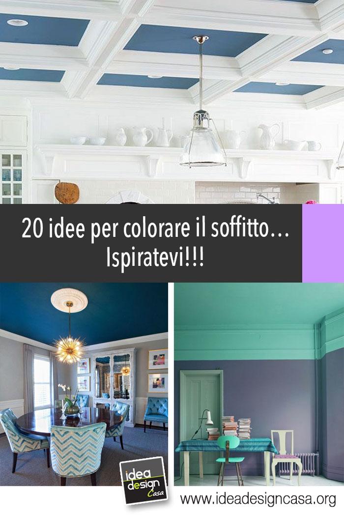 Colorare il soffitto ecco 20 idee per farvi un idea ispiratevi - Idea design casa ...