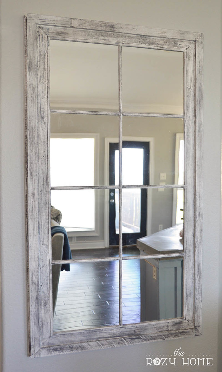 Personalizzare uno specchio con il fai da te ecco 15 idee - Specchio rotto sfortuna ...