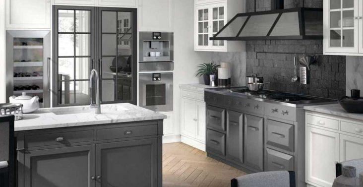 Idee per arredare casa in modo creativo su - Cucina bianca e tortora ...
