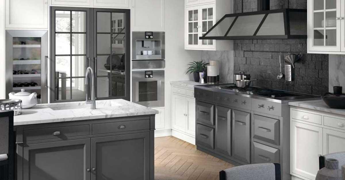 Cucina bianca e grigia: Ispiratevi con questi 15 esempi ...