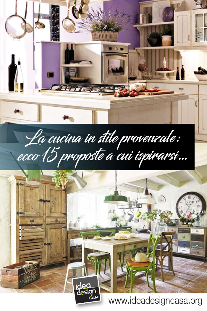 La cucina in stile provenzale ecco 15 bellissime proposte for Cucina in stile ranch