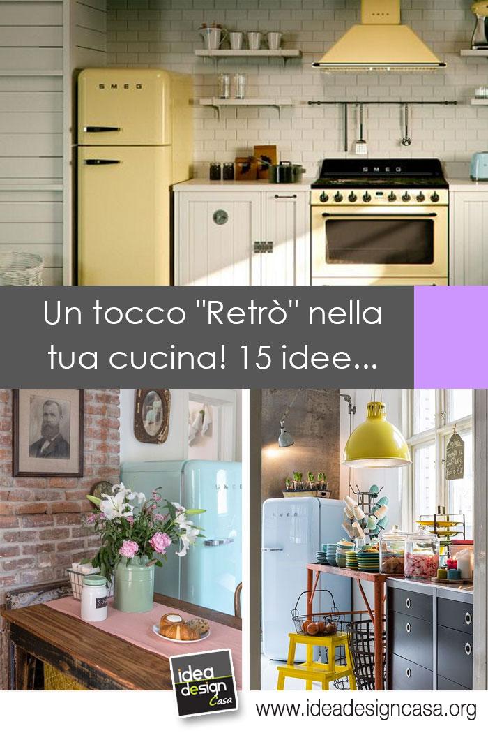 Cucina Stile Vintage.Stile Retro In Cucina Ecco 20 Idee Da Cui Trarre Ispirazione