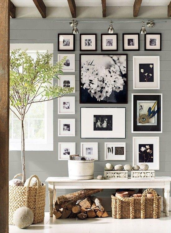 Decorare con foto in bianco e nero