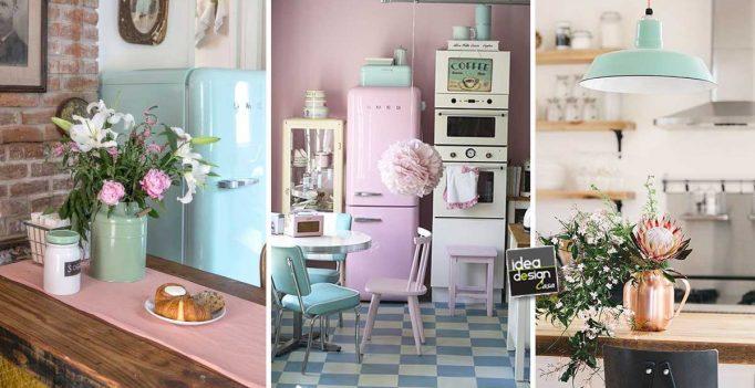 Retro-Stil in der Küche! Hier sind 20 inspirierende Ideen...