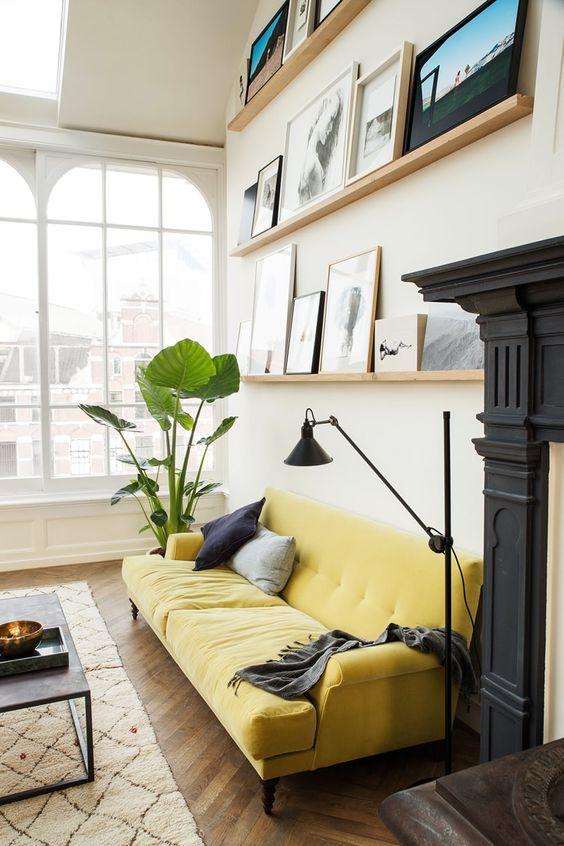 Decorare Casa Con Il Denim : Decorare il soggiorno con le piante ecco idee a cui