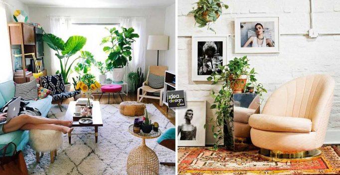 Decorare il soggiorno con le piante ecco 20 idee a cui for Buon soggiorno