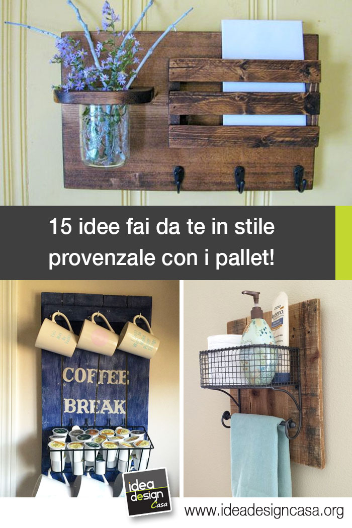 Do it yourself in a provencal style with pallets 15 ideas to do it yourself in a provencal style with pallets 15 ideas to inspire you solutioingenieria Choice Image