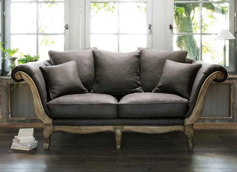 Soggiorno grigio e rosa 15 idee per abbinare con gusto - Maison du monde divano roma ...